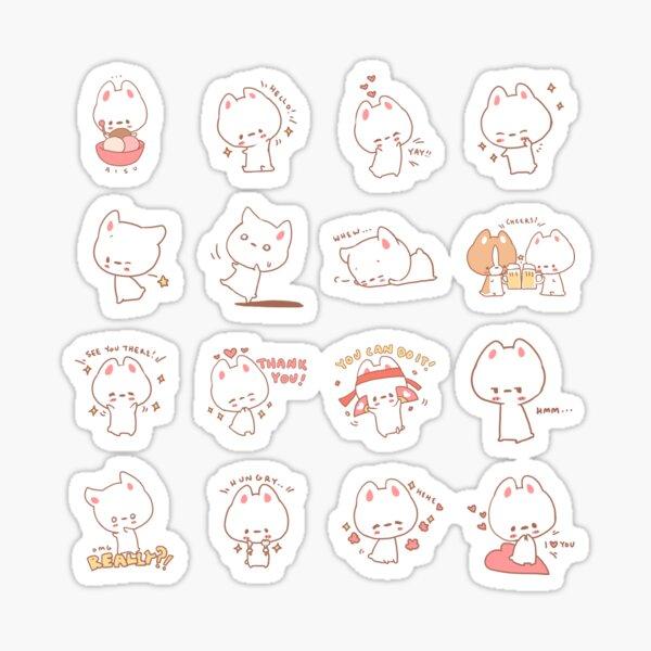 Aisu the Rabbit Sticker Pack Sticker