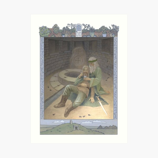 Letters From The Labyrinth | Room #6: Ráith Sídhe Art Print
