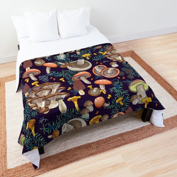 Dark dream forest Comforter