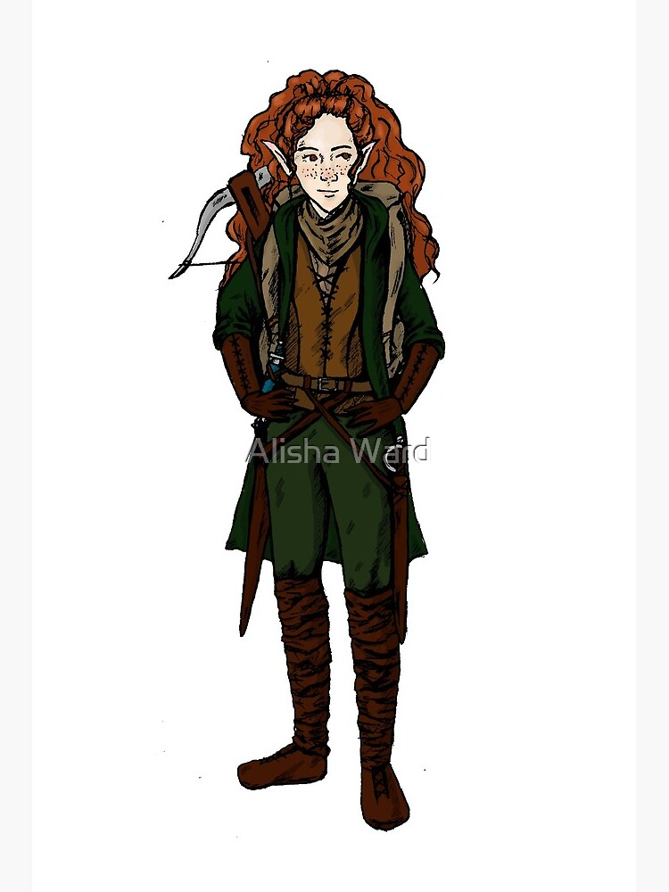 Halfling Rogue Art Board Print By Emergancyward Redbubble Our group will be trying out 5e for the first time in october. redbubble