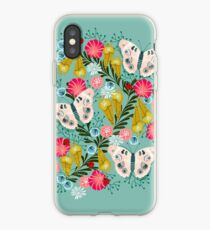 Vinilo o funda para iPhone Buckeye Butterly Florals por Andrea Lauren