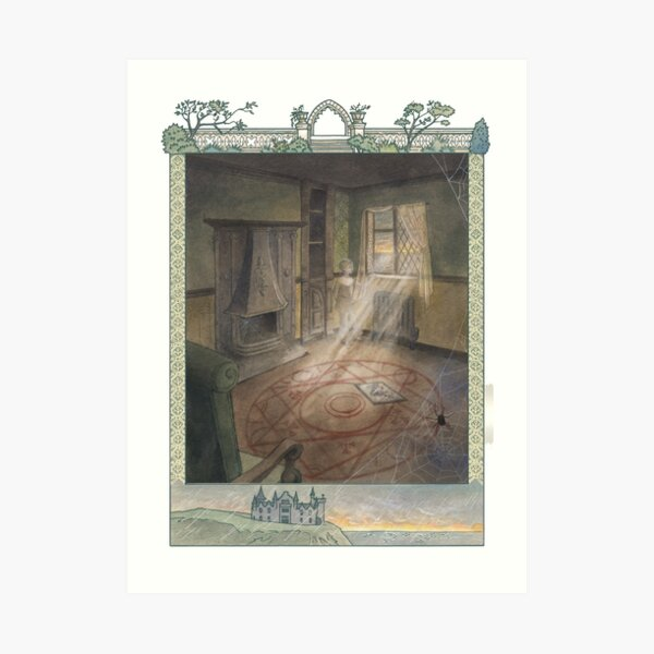 Letters From The Labyrinth | Room #9: Ravnsbrae Manor  Art Print