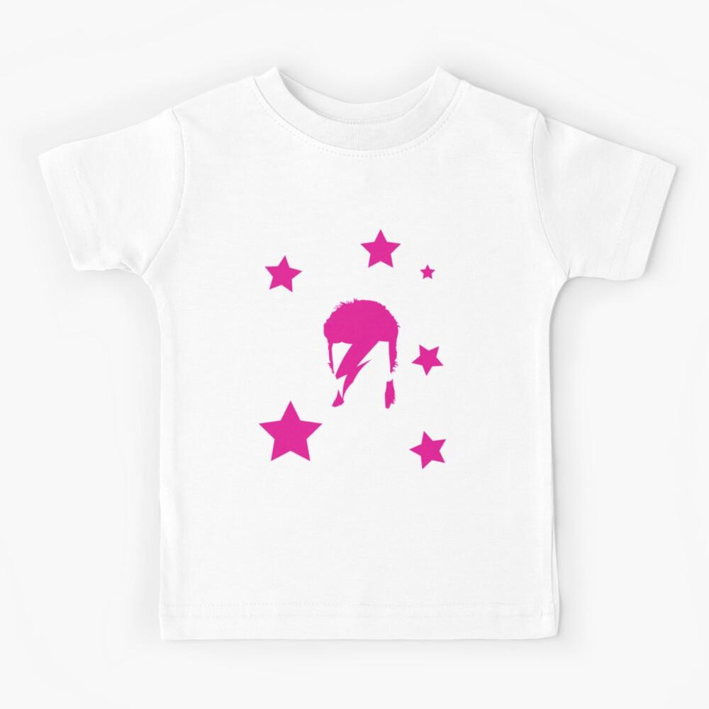 David Bowie tribute Kids T-Shirt