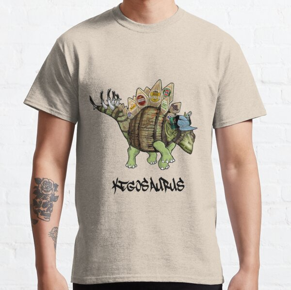 """""""Kegosaurus"""" Classic T-Shirt"""