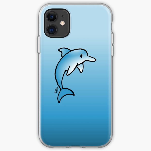 Dolphin iPhone Soft Case