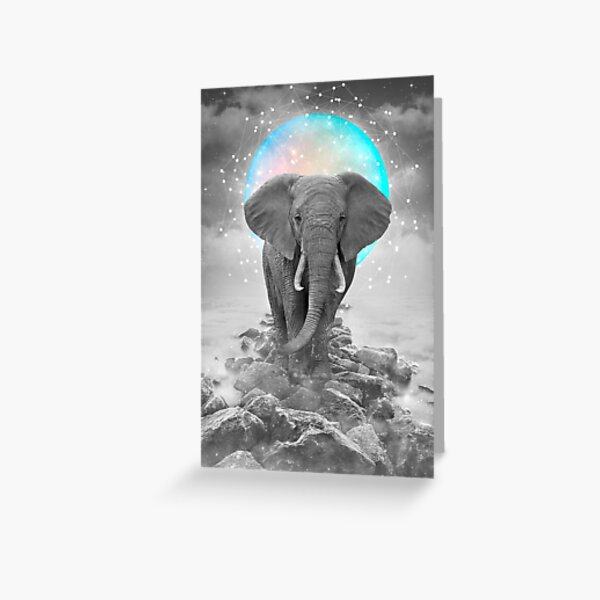 Strength & Courage To Stand Alone Greeting Card