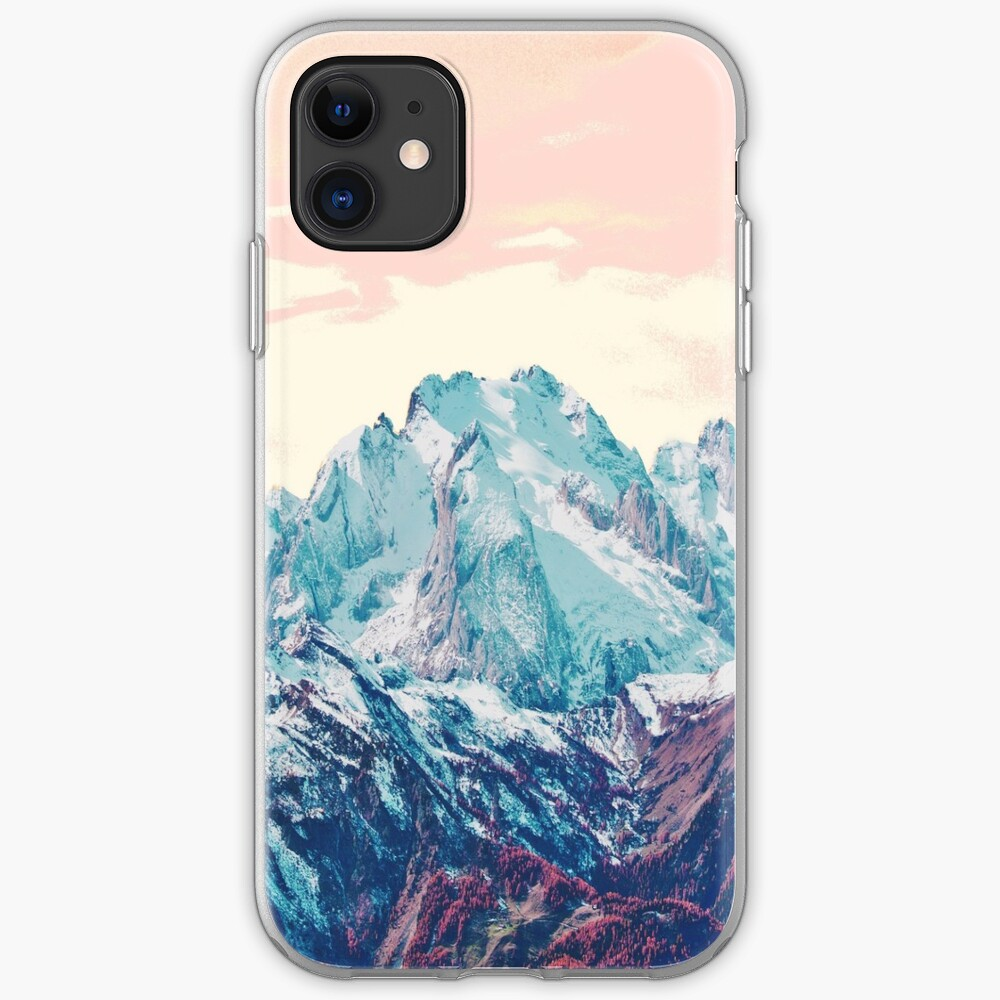 Memories of a sky palette iPhone Soft Case