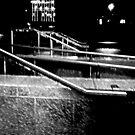 Rain & Rails by PPPhotoArt