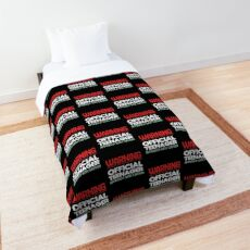 Warning Official Teenager Approach With Caution  Comforter