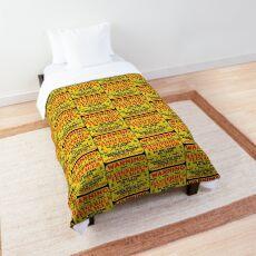 Warning Dangerous Teenager  Comforter