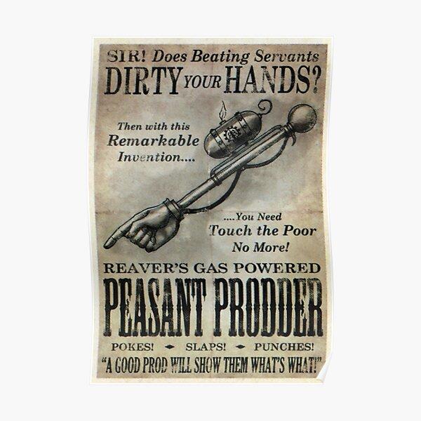 Fable 3 Propaganda Poster - peasant prodder Poster