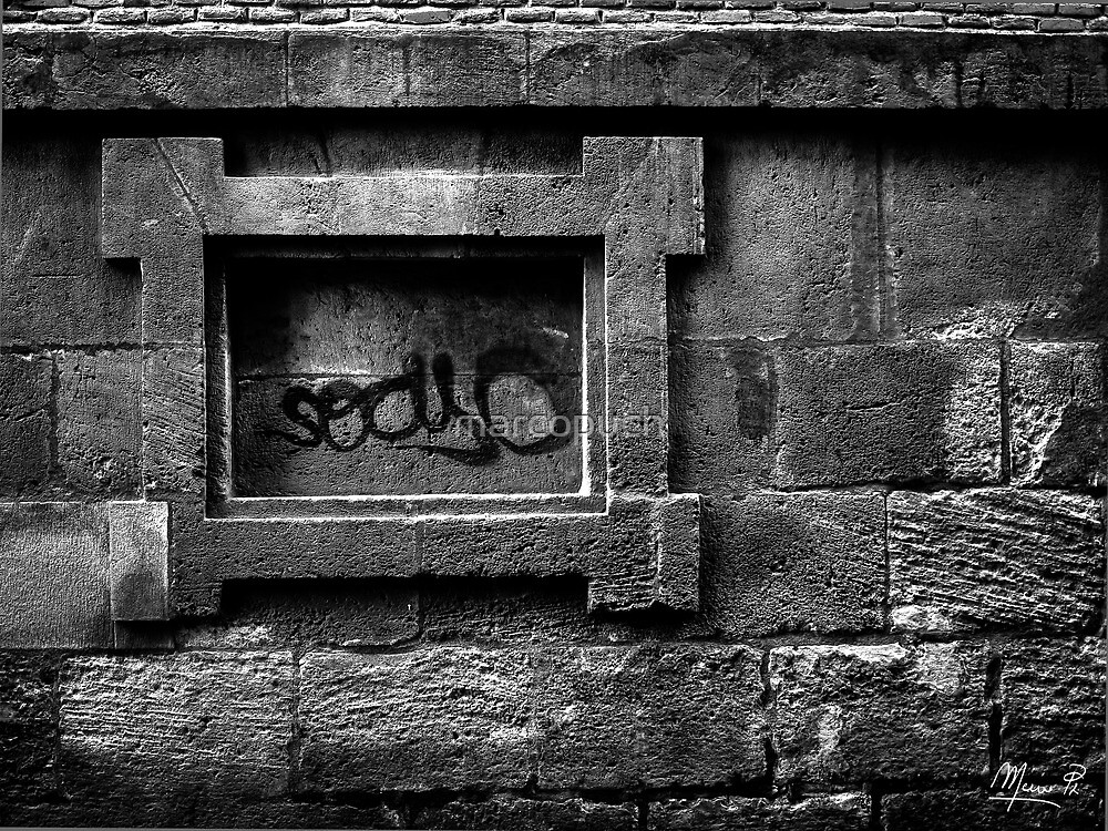 Graffiti in the framework... by marcopuch