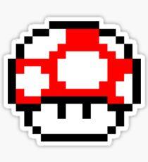 PIXEL - Super mushroom Sticker