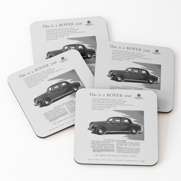 ROVER P4 Coasters (Set of 4)