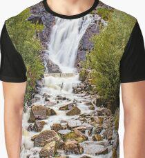 Splendid Waterfall Graphic T-Shirt