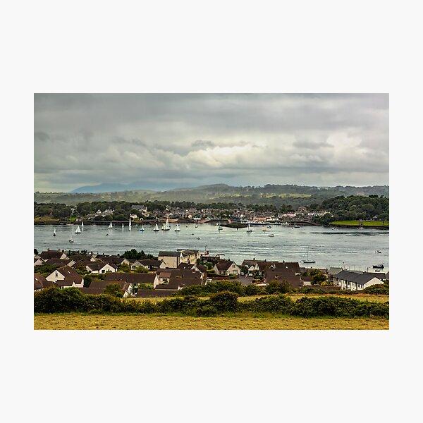 Annual regatta on Strangford Lough Photographic Print