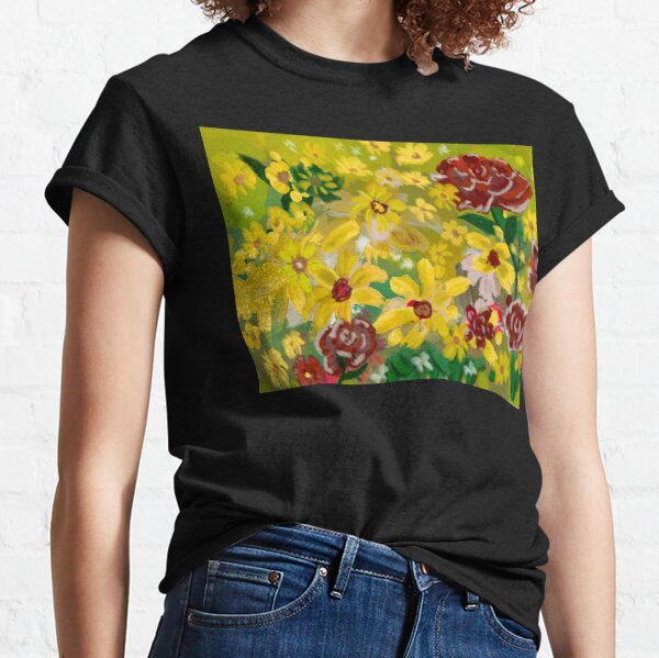 the floral texture make of this beautiful design the perfect complement to go out. Classic T-Shirt