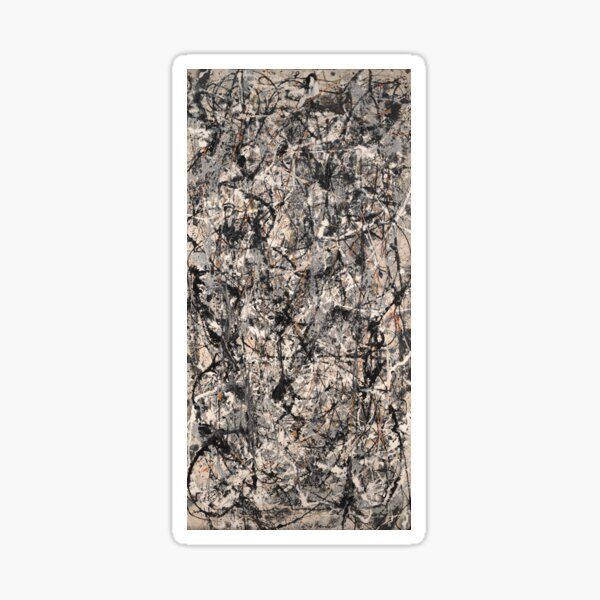 Jackson Pollock, Cathedral (1947) Sticker