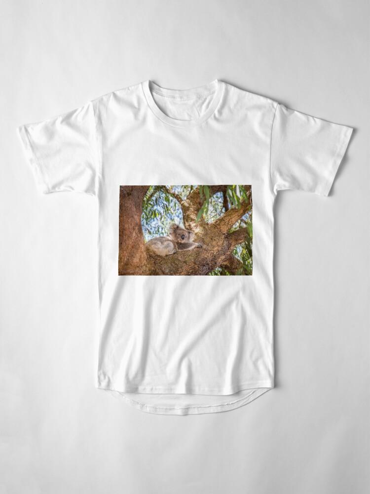Alternate view of Chilling Koala Long T-Shirt