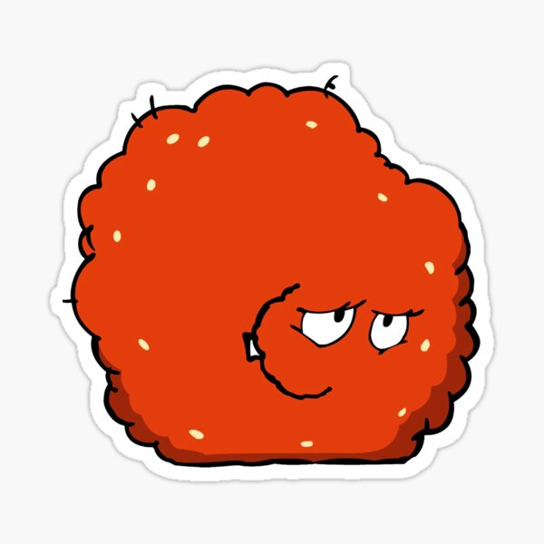 Aqua Teen Hunger Force Meatwad Sticker Graphic Sticker