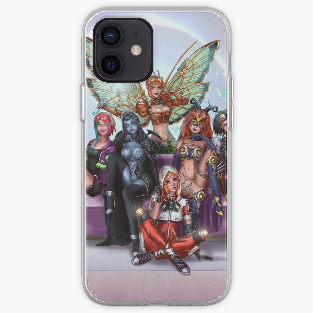 Queens And Rebels iPhone Case & Cover
