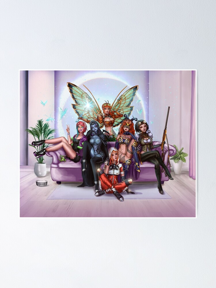 Alternate view of Queens And Rebels Poster