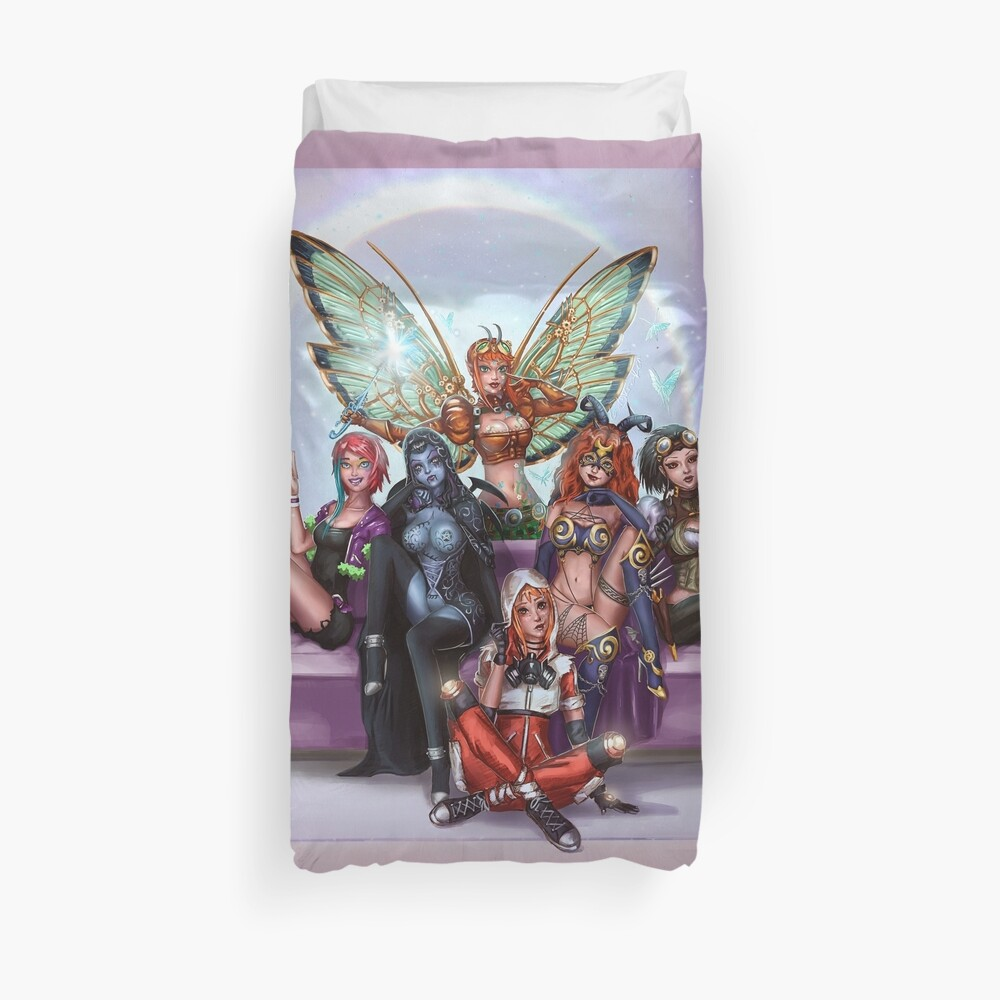 Queens And Rebels Duvet Cover