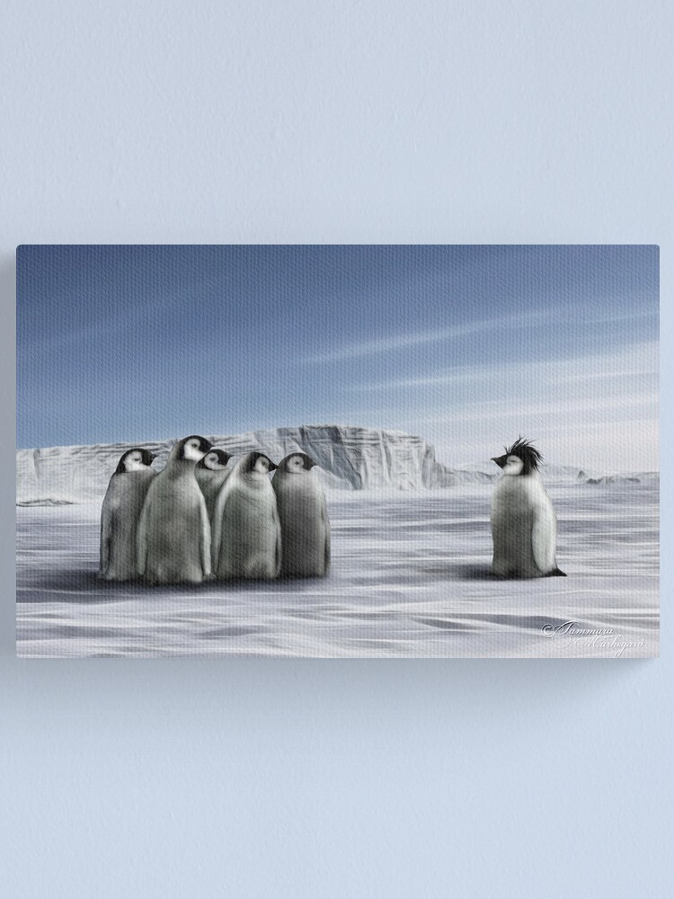 Alternate view of Individuality Canvas Print