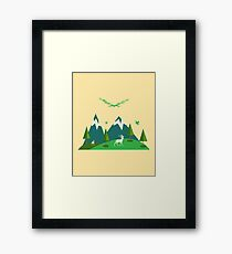 Mountain Nature Framed Print