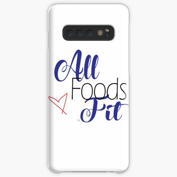 All Foods Fit Samsung Galaxy Snap Case