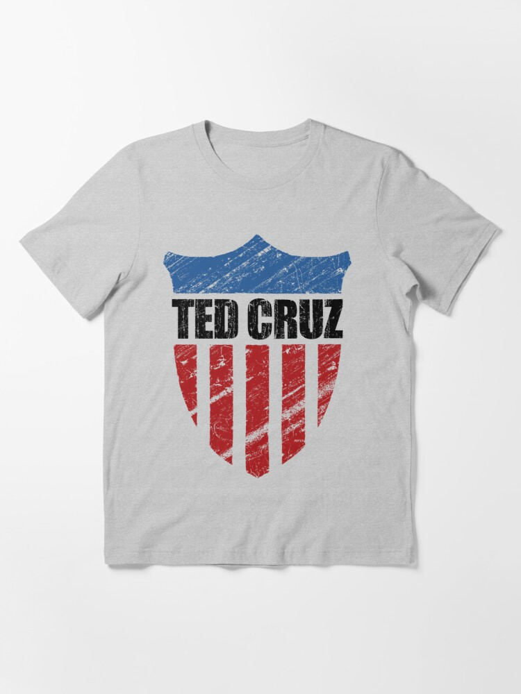Alternate view of Ted Cruz Patriot Shield Essential T-Shirt