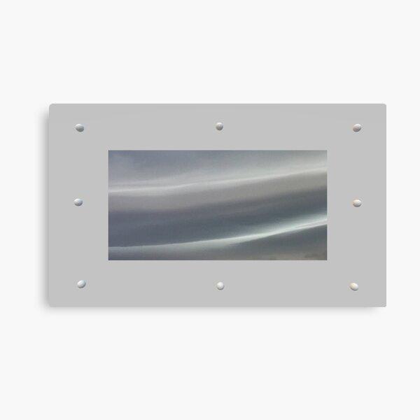 Riveted storm Canvas Print