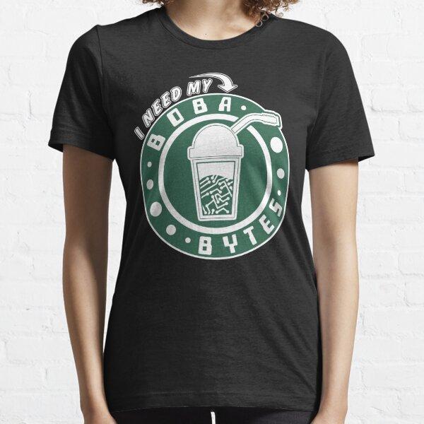 I Need My Boba Bytes Essential T-Shirt