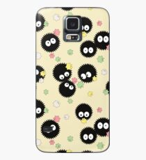 Ghibli Inspired Soot Sprites with Candy Pattern Case/Skin for Samsung Galaxy