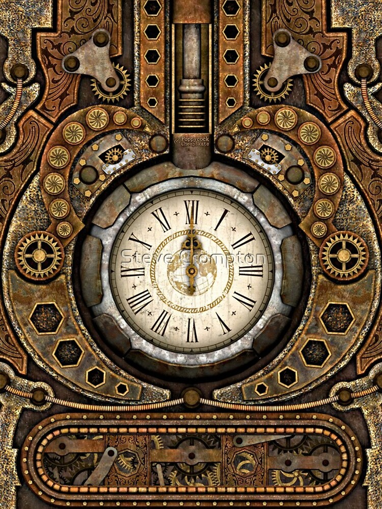 Steampunk Vintage Time Machine by SC001