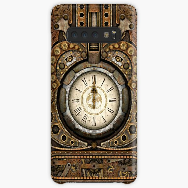 Steampunk Vintage Time Machine Samsung Galaxy Snap Case