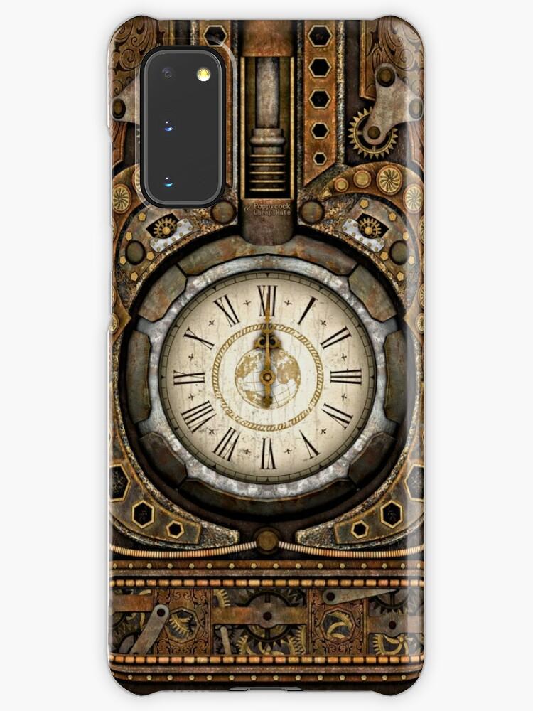 Steampunk Vintage Time Machine   Coque et skin adhésive Samsung Galaxy
