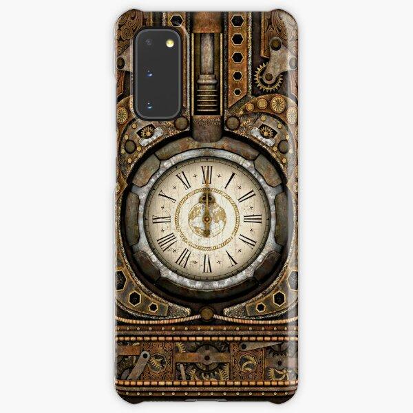 Steampunk Vintage Time Machine Samsung Galaxy Snap Case