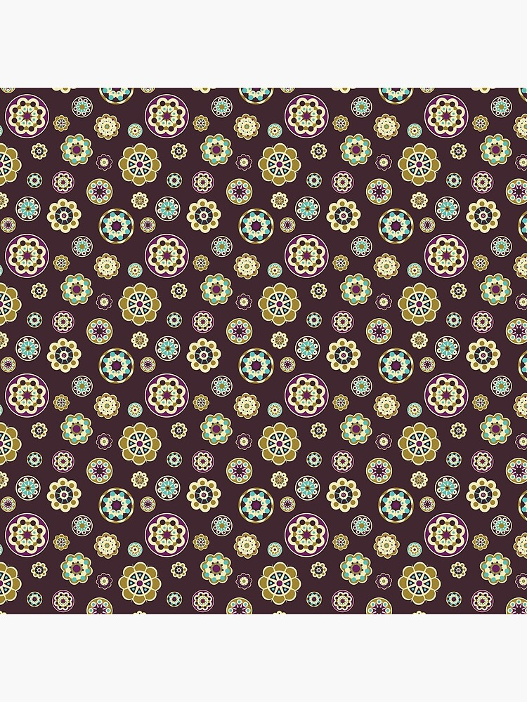 Fabric with floral pattern. by starchim01