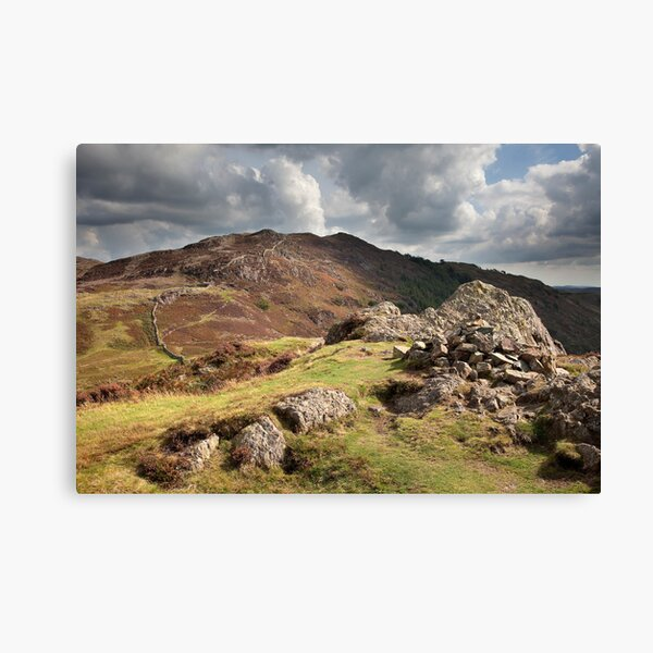 Lingmoor Fell From Side Pike Canvas Print