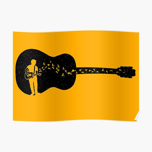 Guitar - Classical Guitarist Poster