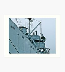 USS John W. Brown - Liberty Ship - Midship Art Print