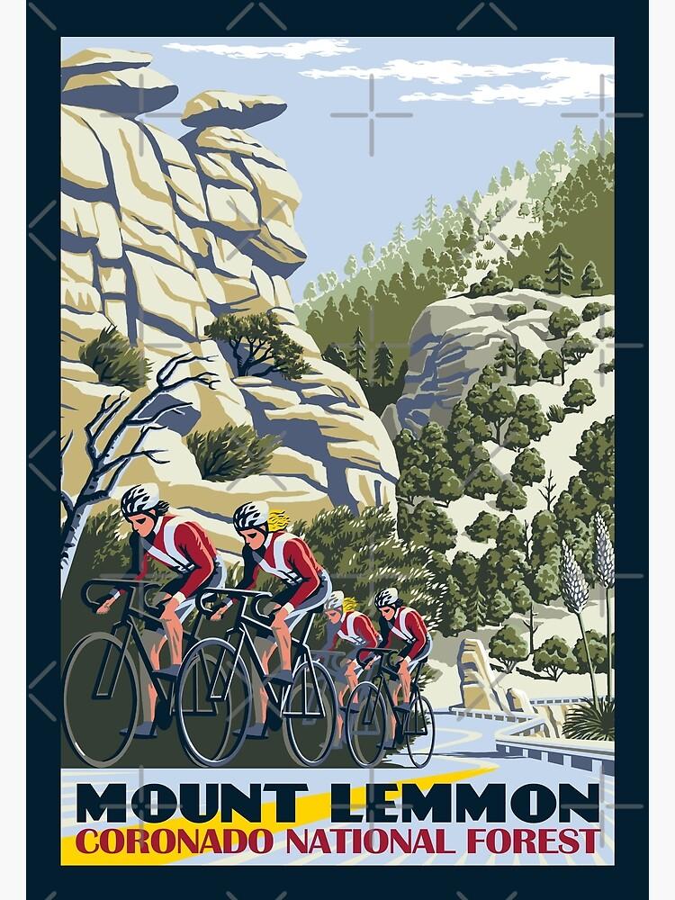 Cycling on Mount Lemmon by wonder-webb