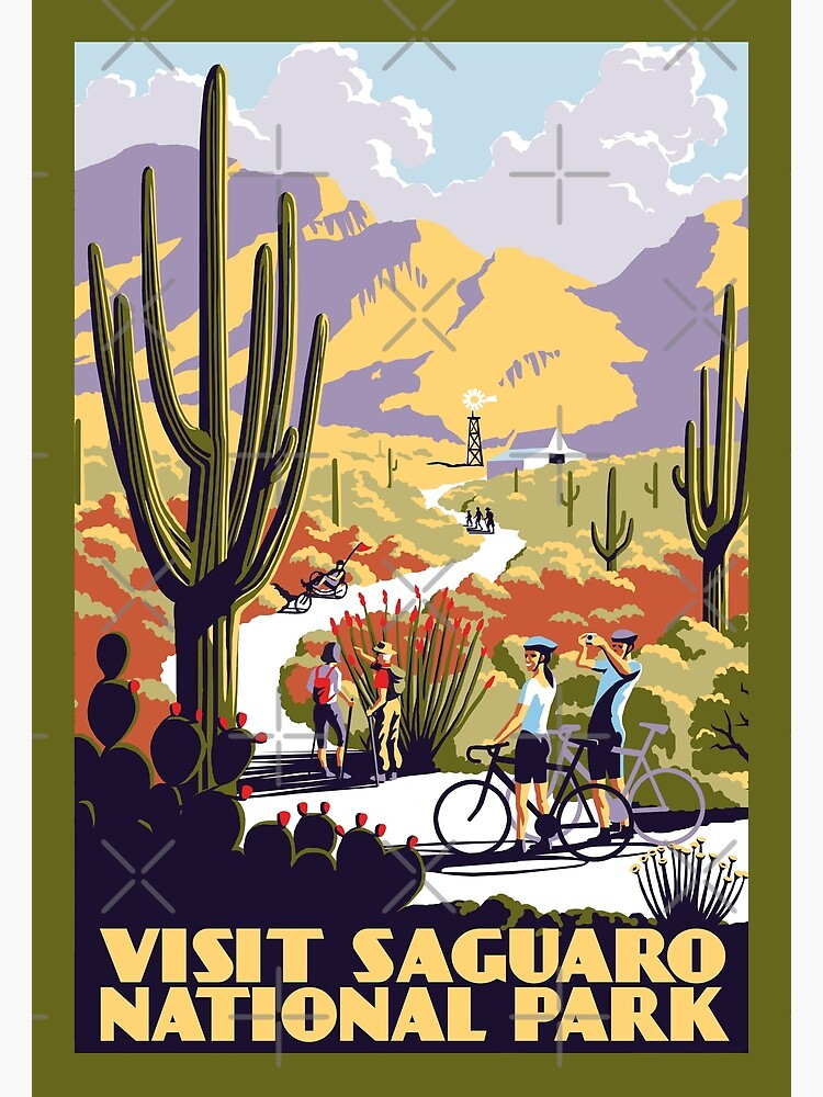 Visit Saguaro National Park by wonder-webb
