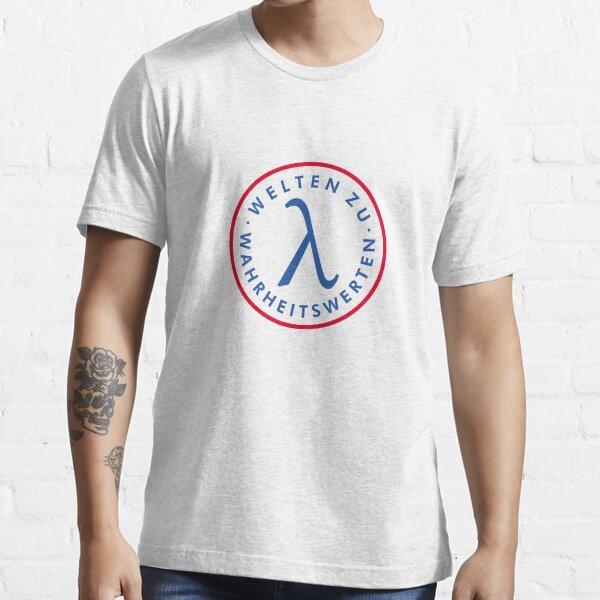 Welte zu Wahrheitswerten (Brust) Essential T-Shirt