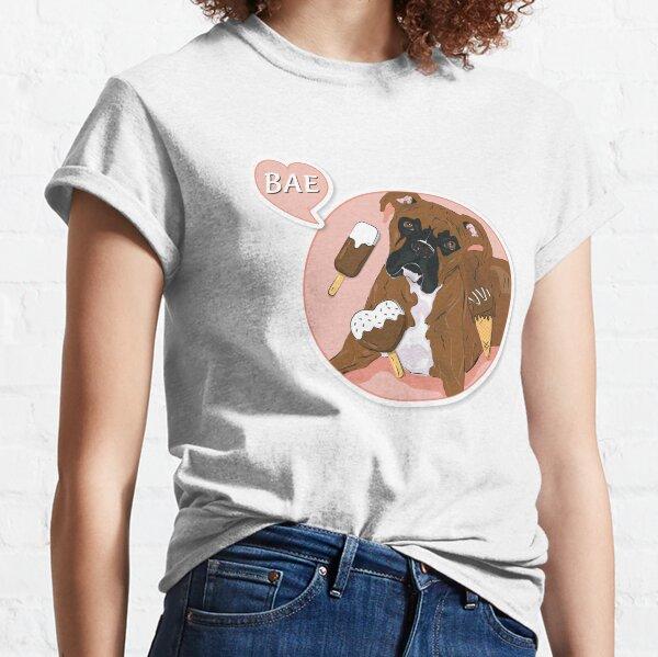 """Cutie Canine """"BAE"""" Classic T-Shirt"""