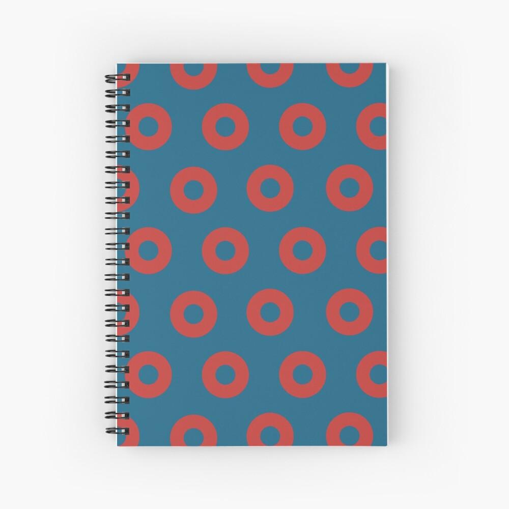 Fishman Donuts - Phish Spiral Notebook