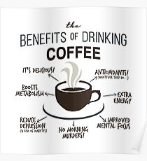 Benefits of Coffee Poster