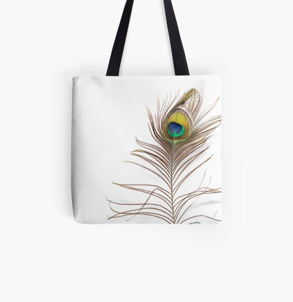 Peacock Feathers Therapist Bag