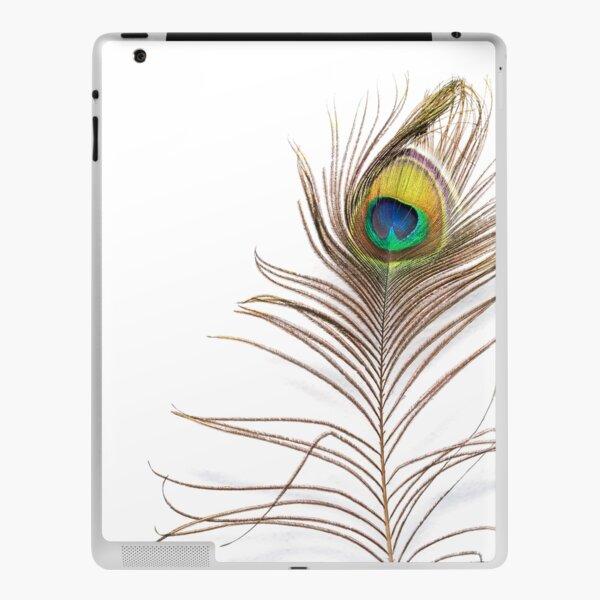 Peacock feather iPad Skin